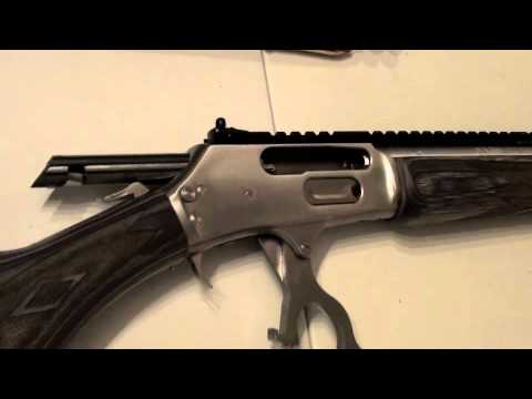 Marlin 1895 SBL 45-70govt vs bottle of water One of the ...