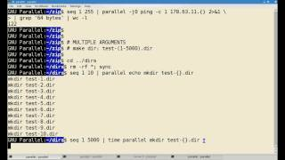 Part 2: GNU Parallel script processing and execution