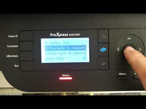 Sem papel MP Samsung M4070 M4020
