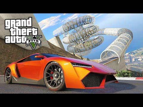GTA 5 ULTIMATE RAMPS & STUNT RACES!! (GTA 5 Online)