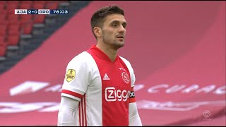 Tadić Promašio Penal, Ali VAR mu Pružio Novu Priliku   Ajax  vs Groningen   SPORT KLUB FUDBAL