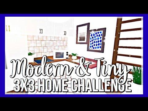 Roblox Bloxburg Modern Tiny 3x3 Home Challenge