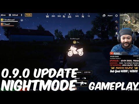 0.9.0 NIGHTMODE GAMEPLAY - PUBG MOBILE