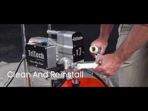 Tritech Paint Sprayers - Equipment Clean Up