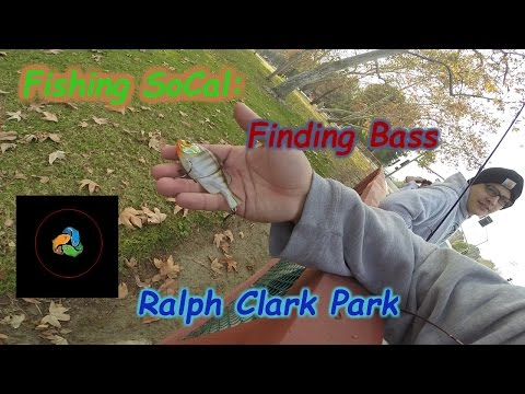 Fishing SoCal : Finding Bass At Ralph Clark