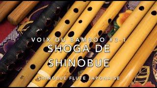 Voix du bambou #3-1  - shoga de shinobue- / apprentissages de la musique japonaise