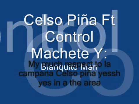 ×××Blanquito man, Celso piña & Control Machete÷ Cumbia Sobre El Rìo (××!)×××