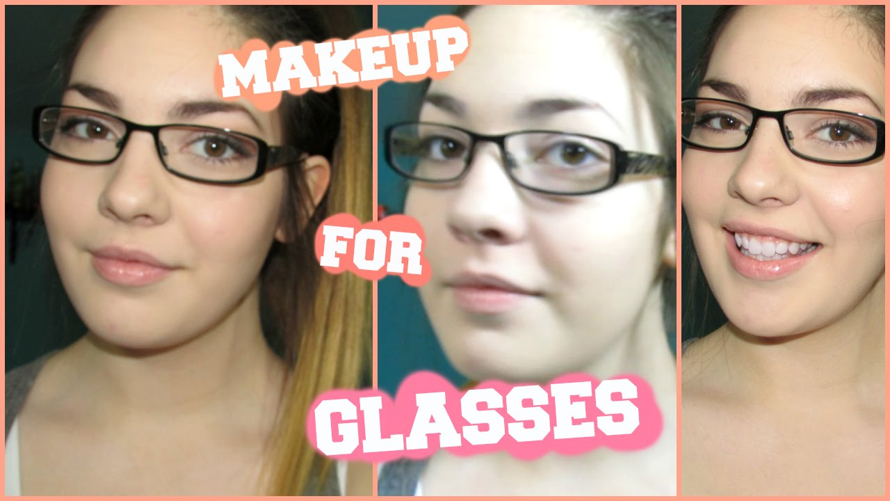 How To Apply Makeup For Glasses Wearers!