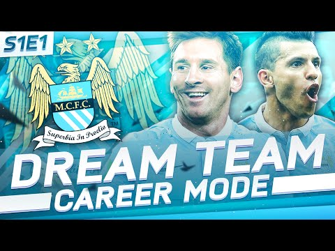 'MESSI SIGNS FOR MAN CITY!' | FIFA 16: Man City Dream Team Career Mode - S1E1