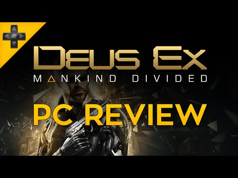 Deus Ex: Mankind Divided - PC Review