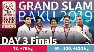 Judo Grand-Slam Baku 2019: Day 3 - Final Block
