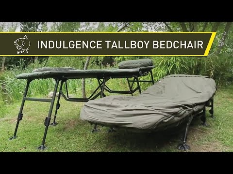 Carp Fishing Tackle Nash Indulgence Tallboy Bedchair And Sleep System - Nash Tackle