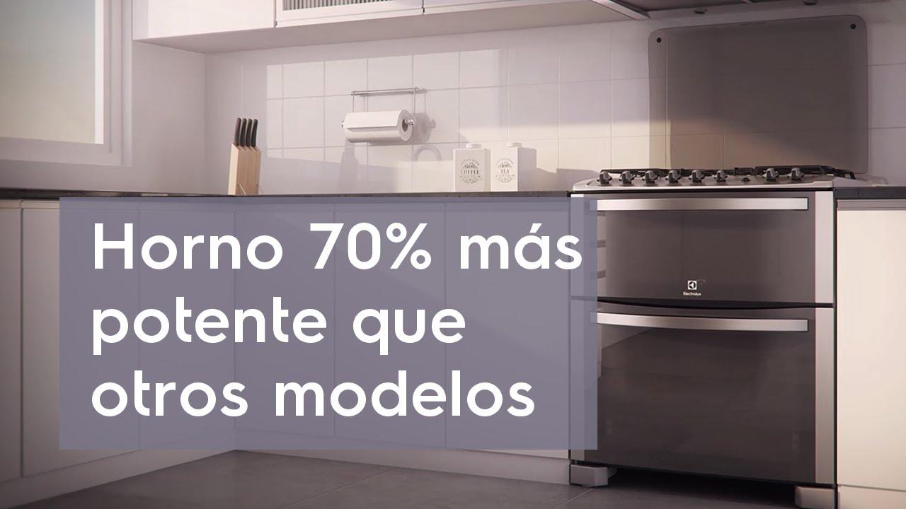 Cocina doble horno 76dtx youtube for Cocinas a gas natural baratas