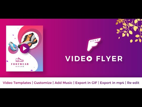 Video Flyer, GIF Poster Maker, Motion Ad Creator