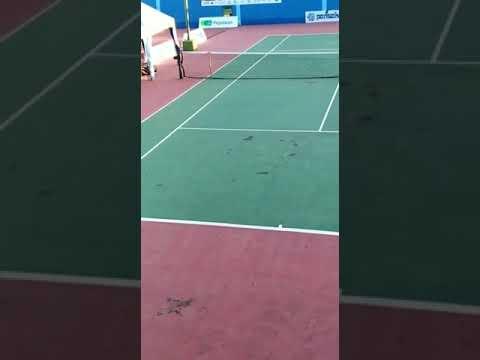 Siswa SMP N 3 Banjarmasin Juara Disway Tennis Junior Championship