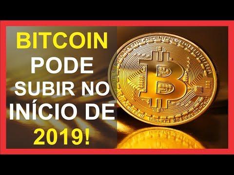 BITCOIN PODE SUBIR NO INÍCIO DE 2019!