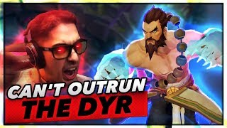 YOU CAN'T OUTRUN THE DYR | FULL RAGE MODE - Trick2G