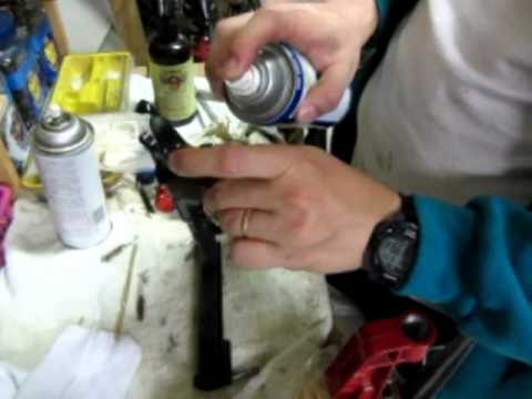 Gun Cleaning. Good old Hoppe's #9 and WD-40 - YouTube