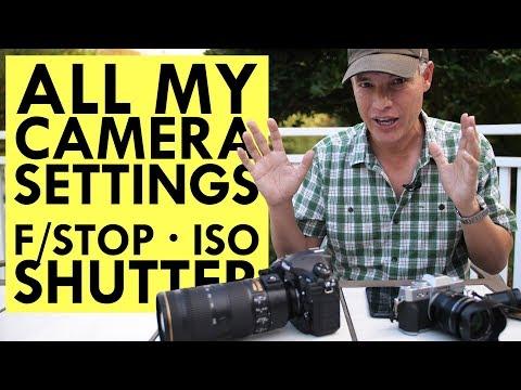 MASTER CAMERA SETTINGS: Aperture, Shutter Speed & ISO
