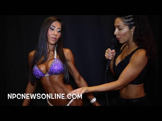 2016 IFBB NY Pro Bikini Winner Angelica Teixeira Winner Interview