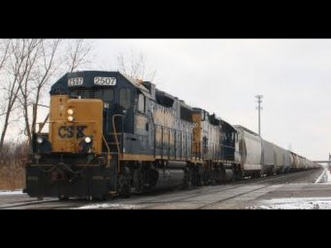 CSX Action At Industrial Hwy, Gary, IN; Chicago Terminal Action The Following Day, 1-22,23-11