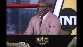 Shaq's Infamous Media Day Photo Resurfaces | NBA on TNT Tuesday