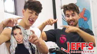 Ex Musical.ly Star Gets Angry and Fights Interviewer | Jeff's Barbershop