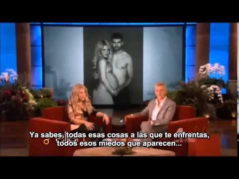 Shakira on Ellen DeGeneres subtitulado en español