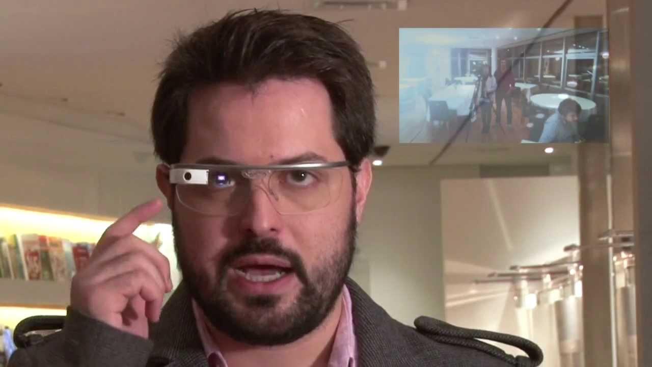 3543b42a582 Testamos o Google Glass - YouTube
