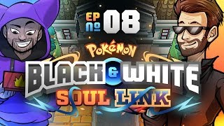 Pokémon Black & White Soul Link Randomized Nuzlocke w/ ShadyPenguinn! - Ep 8 'THE REACH!'