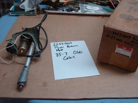 22537809 nos gm power antenna mast 1985 1986 1987. Black Bedroom Furniture Sets. Home Design Ideas