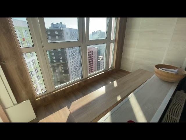 Смотреть видео Балкон под ключ @ Столичная 4-3