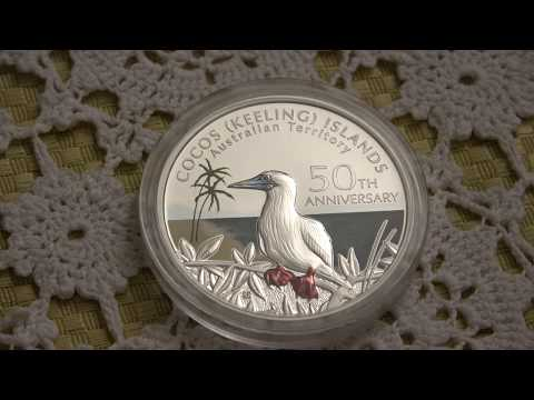 Cocos (Keeling Islands) 1 Oz Silver Coin