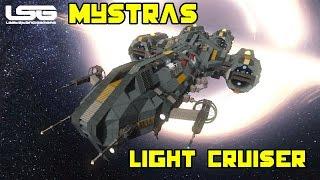 Space Engineers - Mystras Light Cruiser