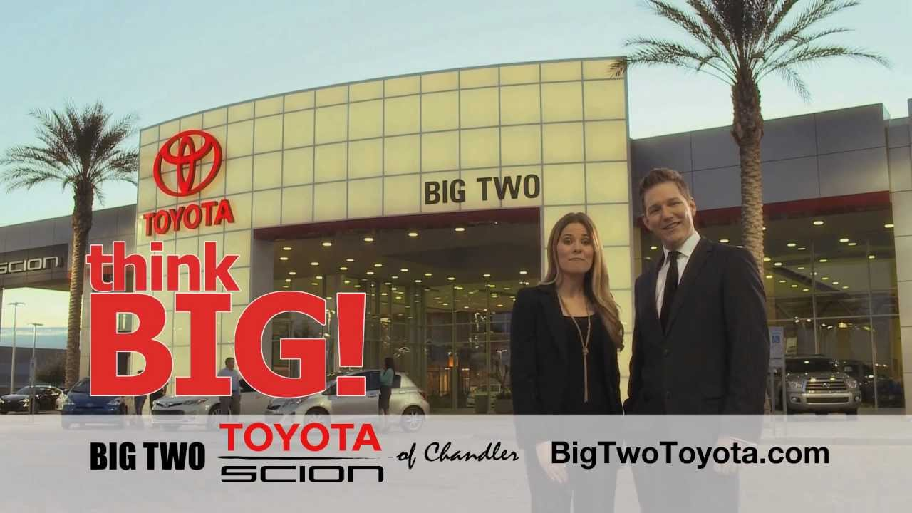 Big Two Toyota Commercial   YouTube