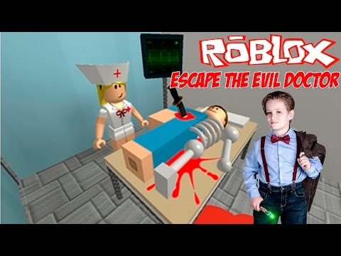 ROBLOX Escape the Evil Doctor. Kid friendly gameplay