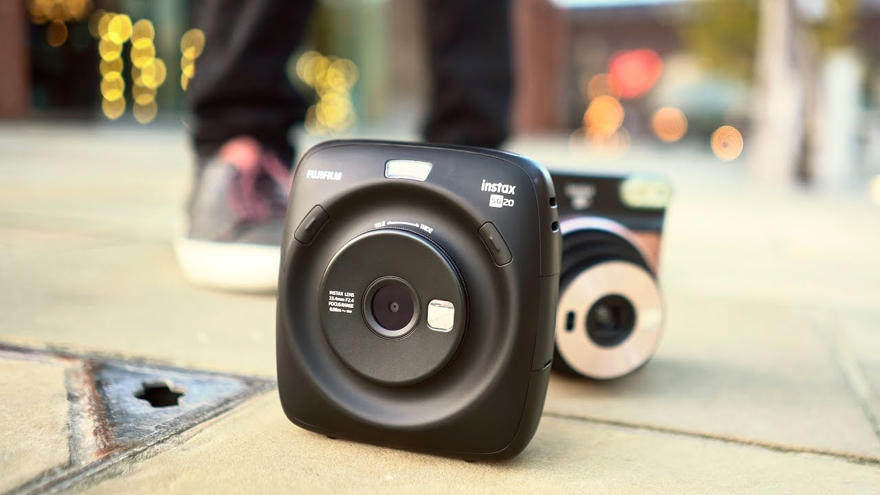 Fstoppers Reviews Fujifilm Instax Square SQ20: Good But