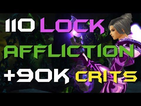 Dommedag - Level 110 Affliction Warlock Twink PvP - BFA Patch 8.0.1