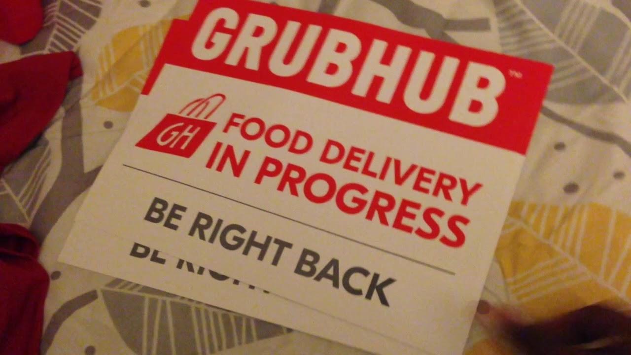 My Equipmenti Signed Up For Grubhub Youtube