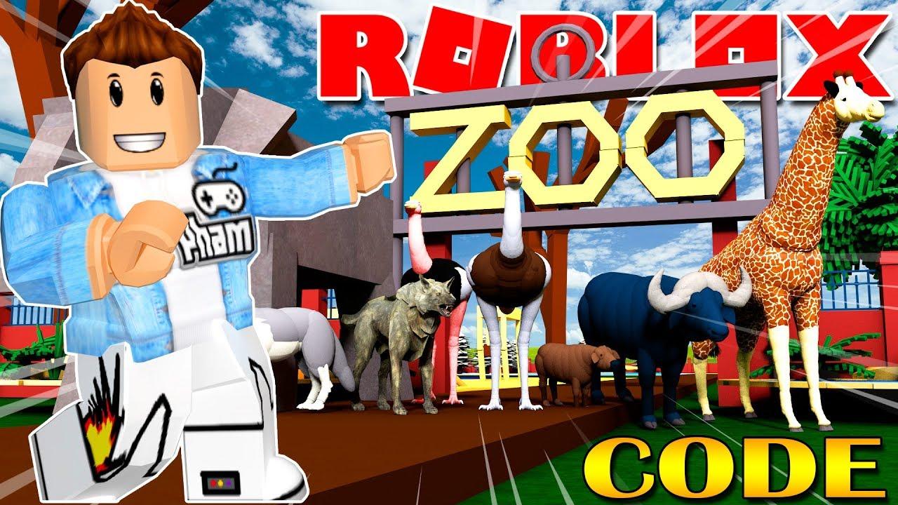 Roblox | XÂY DỰNG SỞ THÚ VÀ SĂN THÚ BẰNG THUỐC MÊ – Zoo Tycoon | KiA Phạm