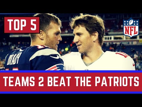 Top 5 NFL Teams that COULD Beat The Patriots in 2017