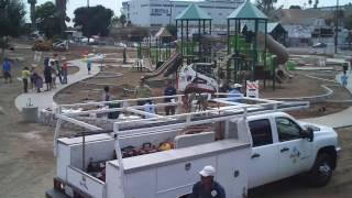 El Sereno Arroyo Playground - Dirt To Park In 30 Seconds