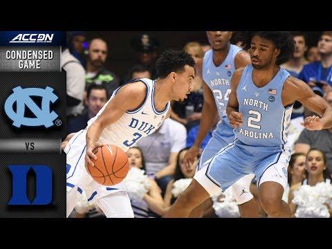 North Carolina vs. Duke Condensed Game | 2018-19 ACC Basketball