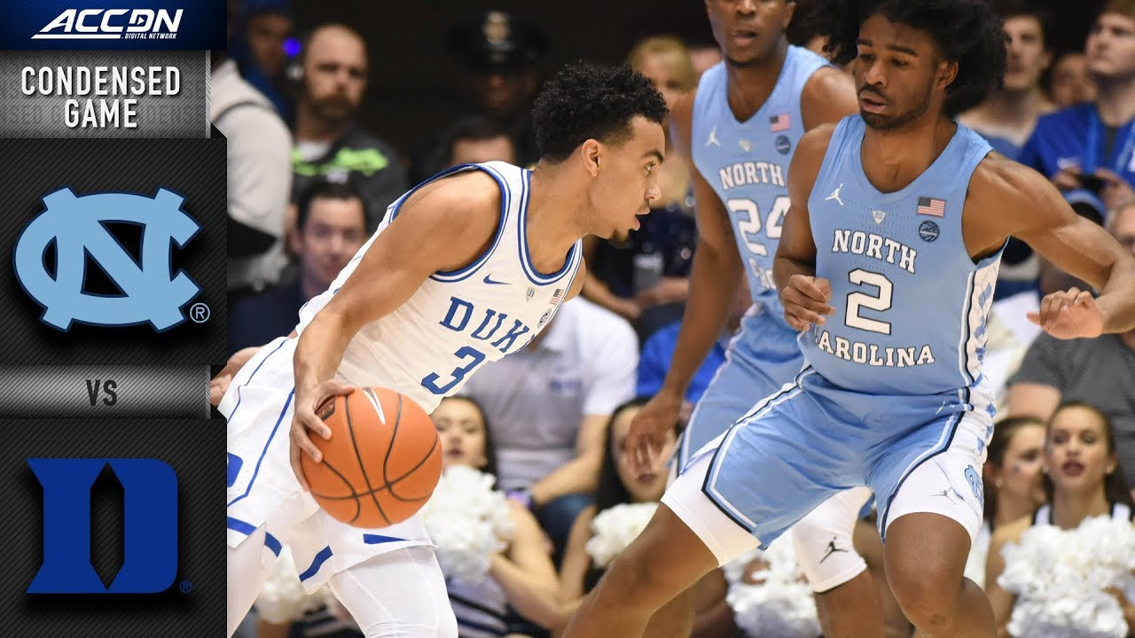 North Carolina vs. Duke Condensed Game | 2018-19 ACC ...