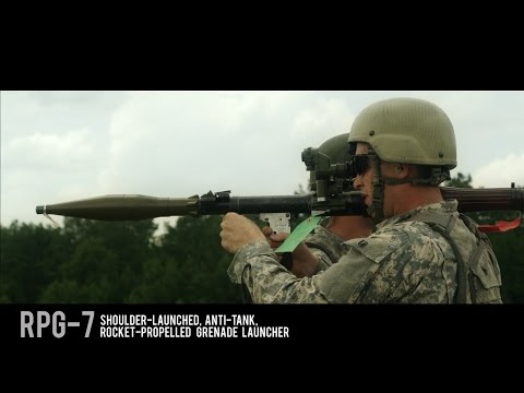 RPG-7 Montage - Awesome Slow-Motion Footage