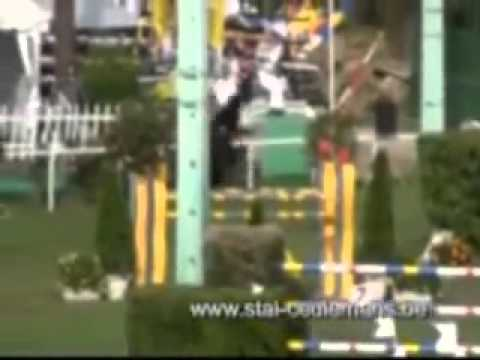 Patrik Spits met Red Star, Royan CSI Grand Prix 1 50m, 19 07 09 wmv
