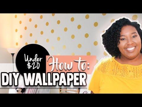 DIY WALLPAPER | CRICUT HACK HOW TO FILL YOU WHOLE MAT