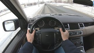 2011 Land Rover Range Rover Sport SUPERCHARGED 5.0L (510) POV TEST DRIVE