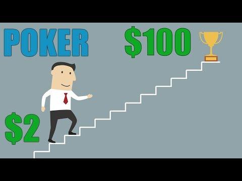 С Nl2 до $100 в Покер Старс. 4 часа игры