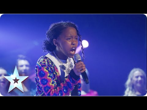 Asanda singing Beyonces If I Were A Boy  Final 2013  Britains Got Talent 2013